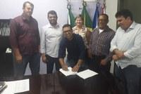 Câmara de Pontal do Araguaia se filia a UCMMAT e fortalece movimento municipalista