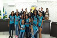 Equipe de vôlei feminino de Pontal do Araguaia conquista terceiro lugar em Jogos Regionais