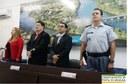 Comandante da Polícia Militar visita a Câmara