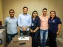 Equipe da Secretaria de Estado da Agricultura Familiar e assuntos fundiários orientam parceleiros de Pontal do Araguaia