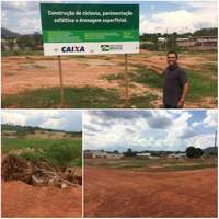 Presidente da Câmara cobra término do asfalto no bairro Araguaia Center